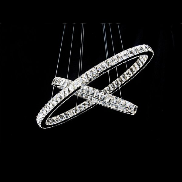 Hot sale 110-240V chrome finished Round Shaped modern crystal pendant lamp for home dec China Manufacturer