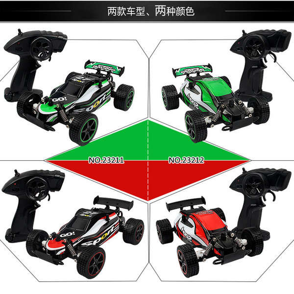 1:20 charging kids intelligent racing high-speed off-road remote control toy car student gift cross border electricity supplier