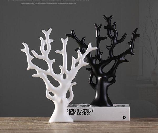 Keramik Happy Baum Home Decor Handwerk Zimmer Dekoration Handwerk Ornament Porzellanfiguren Weihnachtsartikel Dekoration Geschenk