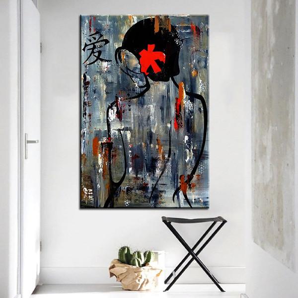 Acheter Grande Taille Impression Peinture à L Huile Zen Bain Peinture Murale Pop Art Mur Art Image Pour Salon Peinture No Frame De 25 89 Du