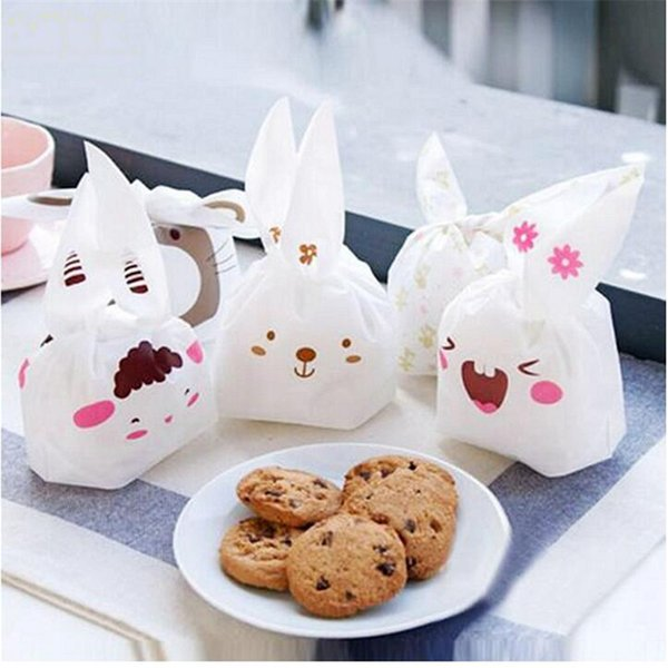 18 stil kunststoff lebensmittelverpackungen beutel party geschenkbeutel für cookie, kuchen, schokolade, süßigkeiten, snack verpackung gute 0120