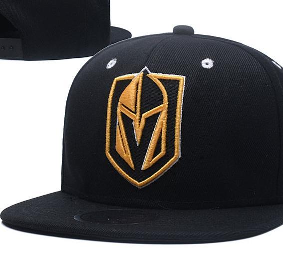 04aa2f4040163 New Caps Vegas Golden Knights Hockey Snapback Hats Black Color Cap  Gold/Black/Gray Visor Team Hats Mix Match Order All Caps Top Quality Hat  Headwear ...