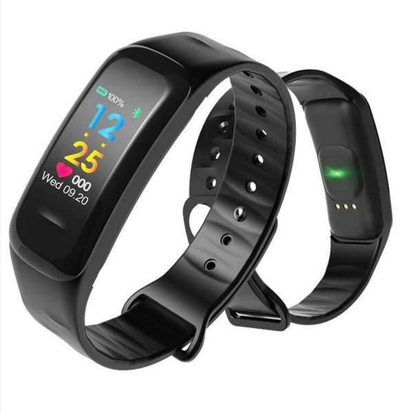 Brand Smart Watch Fashion Smart Wristband Color Screen Call Message Reminder Pedometer Calorie Bluetooth For IOS Android