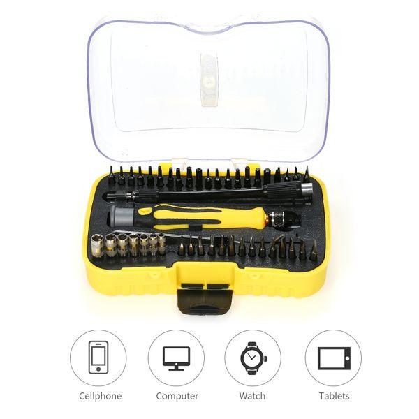 45 in 1 cacciaviti di precisione Set cacciavite kit di strumenti di riparazione per strumento di telecomunicazione multifunzionale per computer cellulare