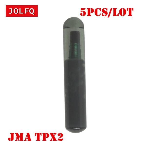 Chip chiave dell'automobile 5Pcs / Lot per l'originale Chip del risponditore di TPX 2 Clone 4D TPX2 del chip TPX2 di JMA TPX2