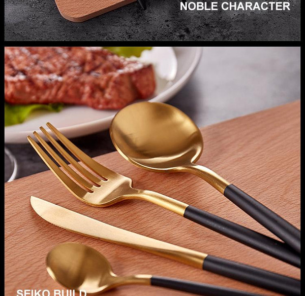 Pack de 6 Cuisine en Acier Inoxydable Cuillères Cuisine Dîner Table Spoons Set