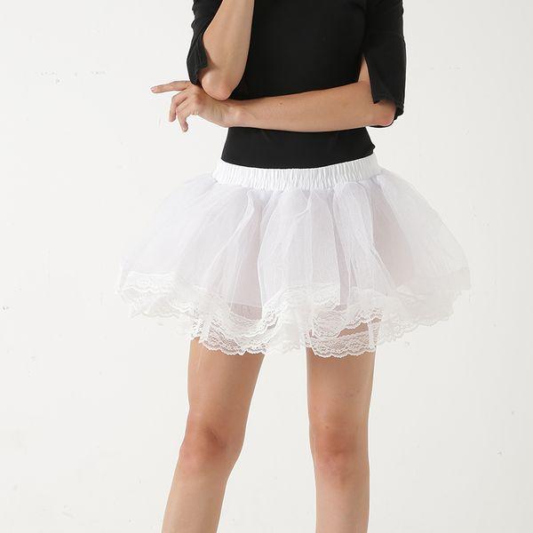 Hot Sale Short Petticoat For Wedding Bud Vintage Tulle Petticoat Crinoline Mini Underskirt Rockabilly Swing Tutu Skirt Slip