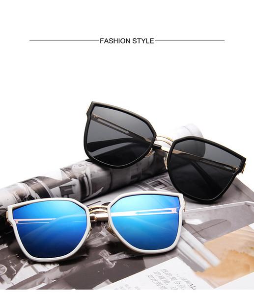 Popular Sungasses Classical Model Aviator Design Glass Lens Top Quality Unisex Designer Square Sunglasses with Case
