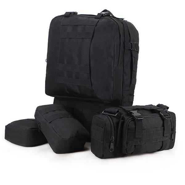 af648f22fde6 Combat Backpack Assault Pack Survival Backpack Outdoor Camping Adjustable  Military Tactic Backpack Hiking Travel Bag Daypack Free DHL G582F