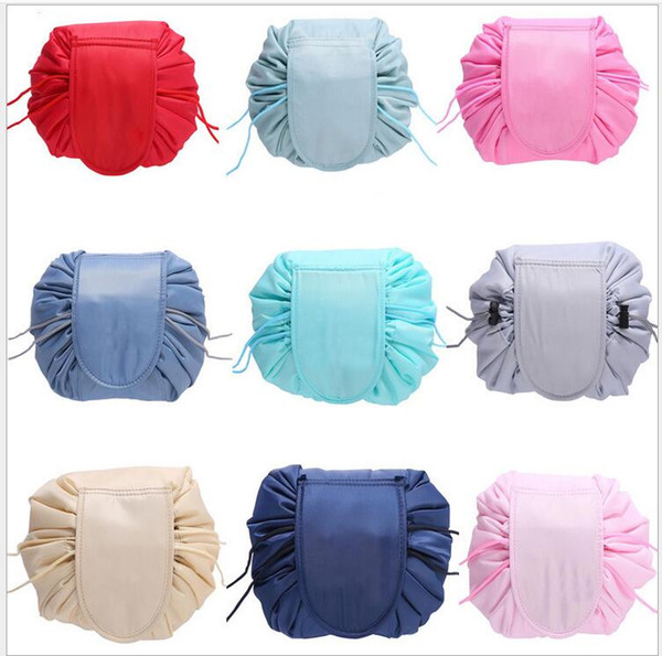 NEW Multi Organizers Drawstring cosmetic bag travel Makeup Drawstring storage bag beam magic Pouch Toiletry Kit Box Wash Bag(10pcs/lot)