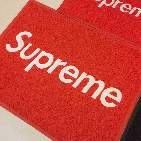 Tapis de SUP pour les tapis rouges de mode d'hôtel à la maison pour le tapis antidérapant de salle de bains de tapis de planche à roulettes de Hip-Hop de porte 60 * 80CM