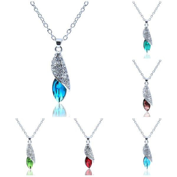 Anhänger Halskette Frauen Silber Schmuck Anhänger Halsketten Meer Fehlende Wüste Licht Conch Kette Halsketten