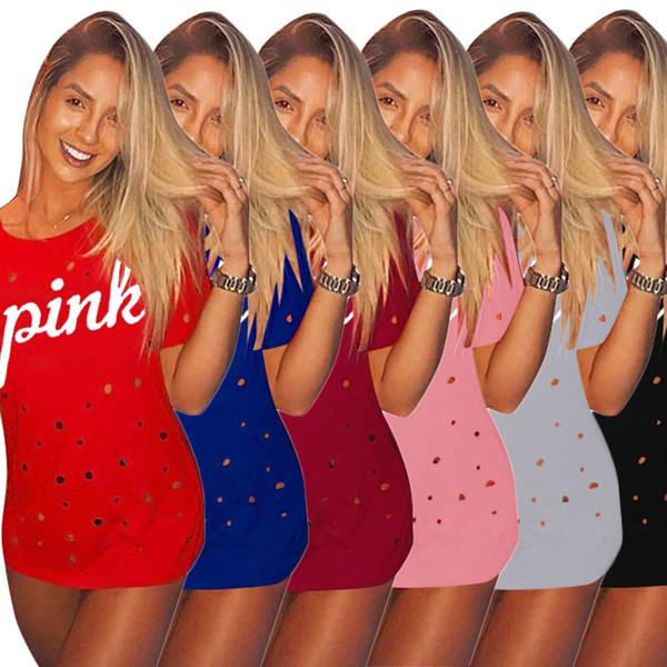 Women Short Sleeves Loose Print Mini Dress T Shirt Blouse 2018 Summer Beach Dress Batwing Sleeve Print Girl Skirt