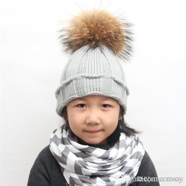 Compre Sombreros De Invierno Bebé Súper Cálido Beanie Crochet Gorros ...
