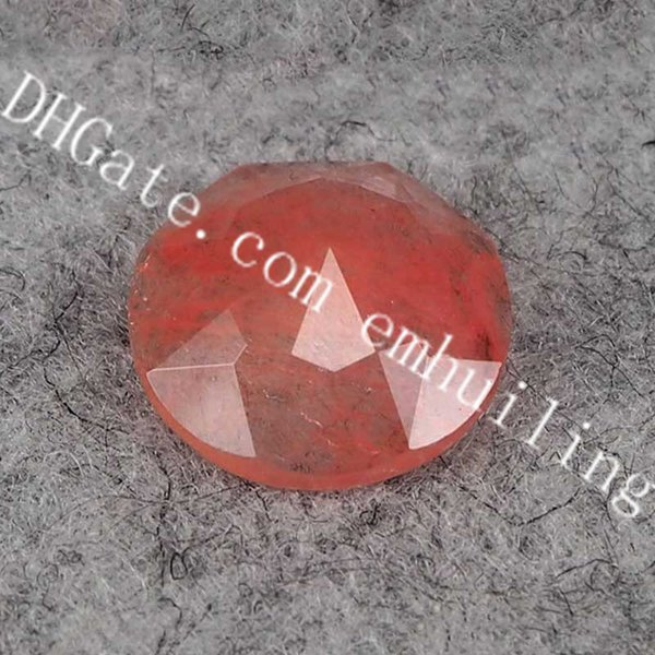 manmade watermelon red crystal
