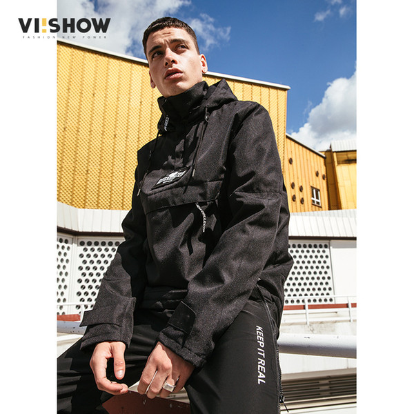 VIISHOW Brand 2017 Winter Hooded Jacket Men Waterproof Parka Men Clothing Keep Warm Coat Mens Hoodies Hedging Label MC2302174
