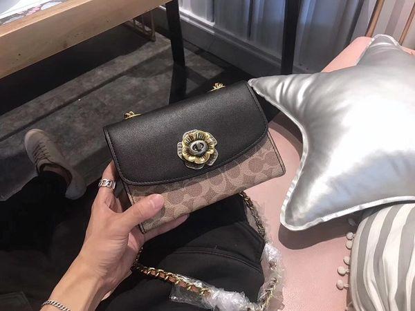 Envío gratis con la caja de la nueva llegada de las mujeres bolso de hombro bolso de cuero del bolso hombro 19 cm bolso femenino vintage crossbody bolsas