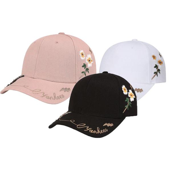 NY Kappe NY Yankees Caps Mode Stickerei Bee Mode Sonnenschutzkappe Schweiß absorbieren Komfortable Baseball Sport 3 Stücke