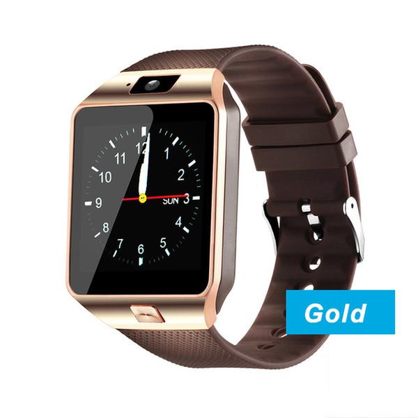 DZ09 reloj inteligente_Gold