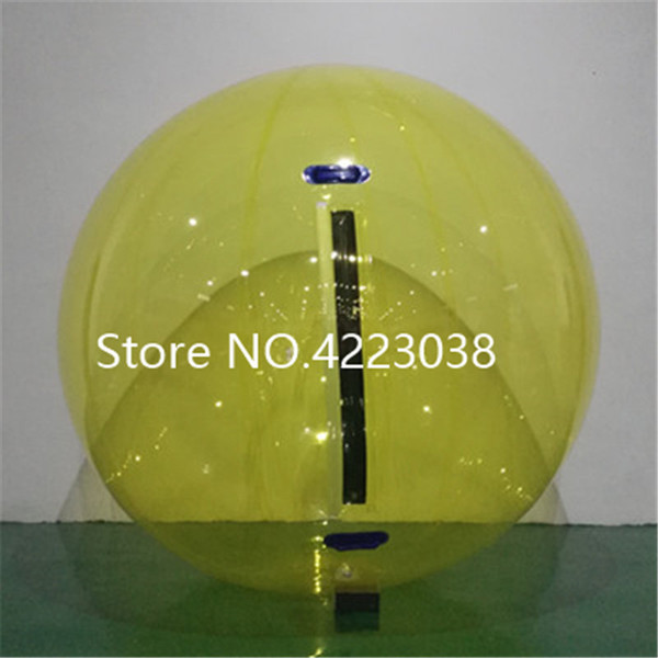 German Zipper 2m Multicolor Inflatable Water Walking Ball Air Space Balls Water Zorbing Ball Walking Water Ball