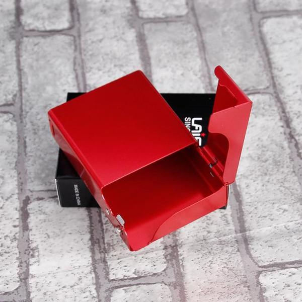 Rifapu алюминиевого сплава 20 сигареты чехол, мягкий чехол, упаковка сигареты, портативный сжатия, курение комплект Оптовая
