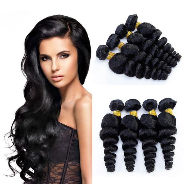 Brazilian Loose Wave Virgin Hair Extensions Cheap Human Hair Weave 4 Bundles Best Selling Items Real Vendors Brazilian Bundles Hair