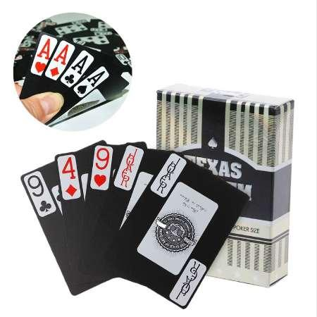 1 Set Waterproof Poker Plastic Playing Card Collection Creative Magic Table Board Game