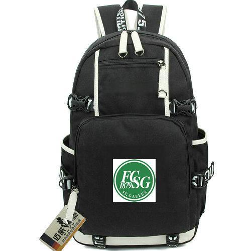 St Gallen day pack FCSG FC daypack Kybun park Football club schoolbag Soccer packsack Laptop rucksack Sport school bag Out door backpack