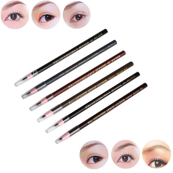 1pc Waterproof Microblading Permanent Makeup Eyebrow Lip Design Positioning Pencil tattoo pencil lapis para sobrancelha lapiz