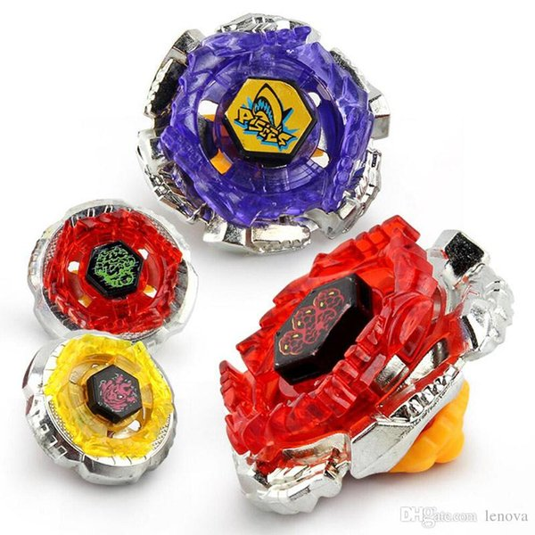 Beyblade AA26 4IN1 Gyro Battle Arena Set 4pcs Gyro Starter Set with String Booster Beyblade Toys for Kids