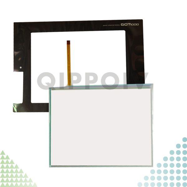 GT1665M-STBA GT1665M-STBD GT1665M Yeni HMI PLC dokunmatik ekran paneli dokunmatik Ve Ön etiket