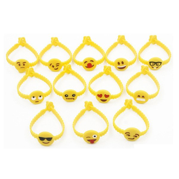 wholesale Smiling Face pvc material vinyl wristband/bracelet, wristbands for events, festival wristbands fast shipping LX0418