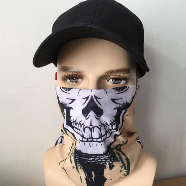 Sommer nahtlose Beanie Snood einfarbig Kopfbedeckung Hals Bandana Schal Tube Mask Cap Muffler Anti-UV-Bandana Schals