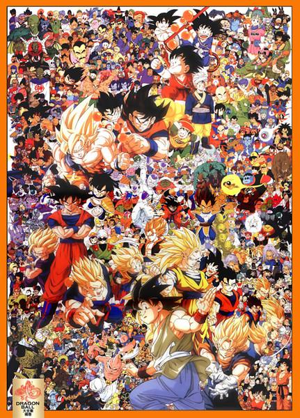 "DRAGON BALL Z ANIME MANGA SUPER Art Silk Poster 24x36"" 24x43"""