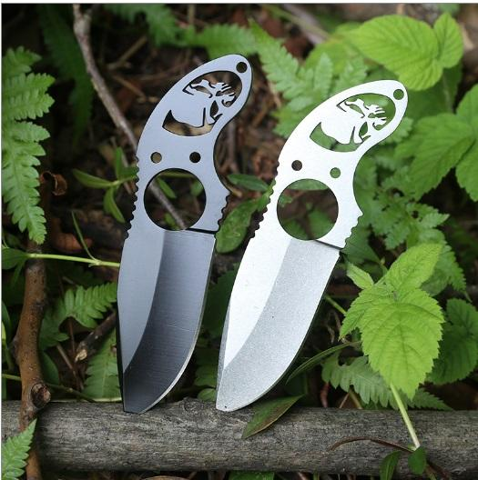 Fixed blade hunting Straight Knife Claw Karambit Neck knives Tactical Survival EDC Tool Outdoor Geer Camping Top quality For sale MH125-C