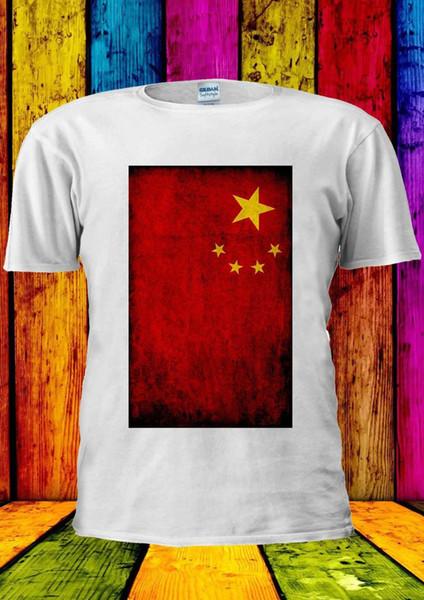 Çin Bayrağı Çin Vintage Pekin Tişört Yelek Tank Top Erkek Kadın Unisex 1422