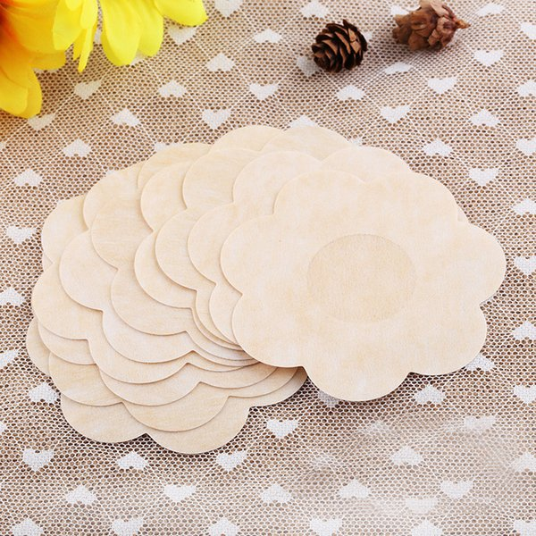 10pcs Soft Nipple Covers Disposable Breast Petals Flower Sexy Tape Stick On Bra Pad Pastie For Women Intimate Accessories Nipple