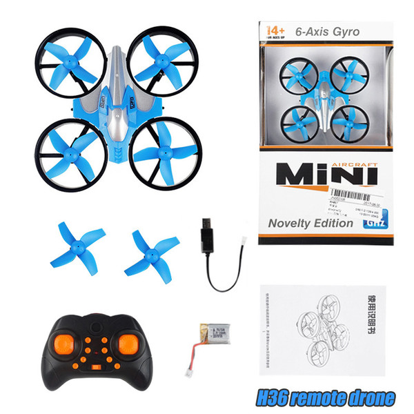JJRC H36 Mini Drone RC Drone Quadcopters Headless Mode One Key Return Helicopter VS JJRC H20 Pocket remote control Drone Toys For kids