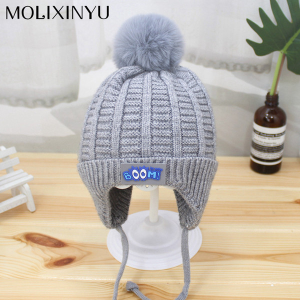 6b9b36be9 2018 MOLIXINYU Fashion Baby Hats Children Winter Hat For Boys Girls Kids  Knitted Baby Beanies Boys Girls Warm Hat 2 5Y From Entent, $38.82 | ...