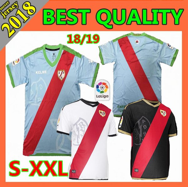 8b4470853 Size xxl 2018 rayo vallecano jer ey home away alex moreno occer jer ey 18 19