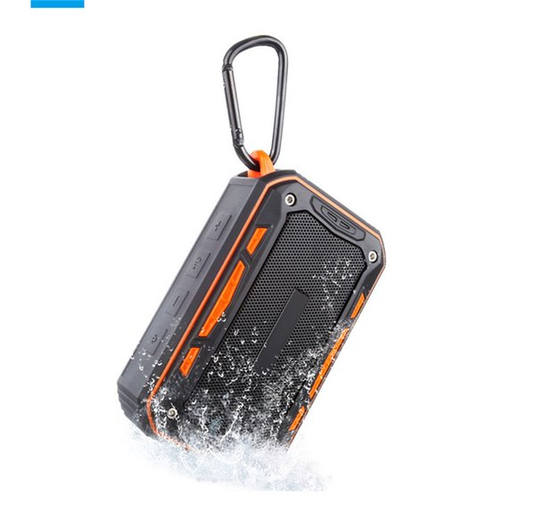 IP65 Outdoor Waterproof Bluetooth Speakers For Hiking Wireless Mini Portable Subwoofer Support TF Card With Hook Retail Box