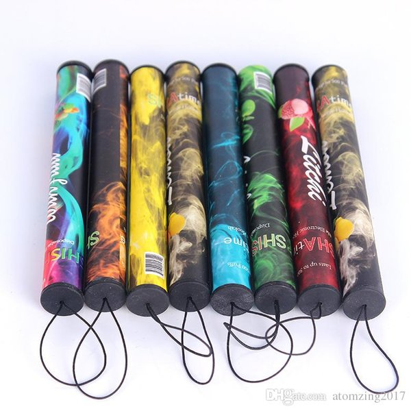 ShiSha pen Disposable Electronic cigarette Shisha time disposbale E cigs 500 puffs 34 type Various Fruit Flavors Hookah pen 280mAh battery