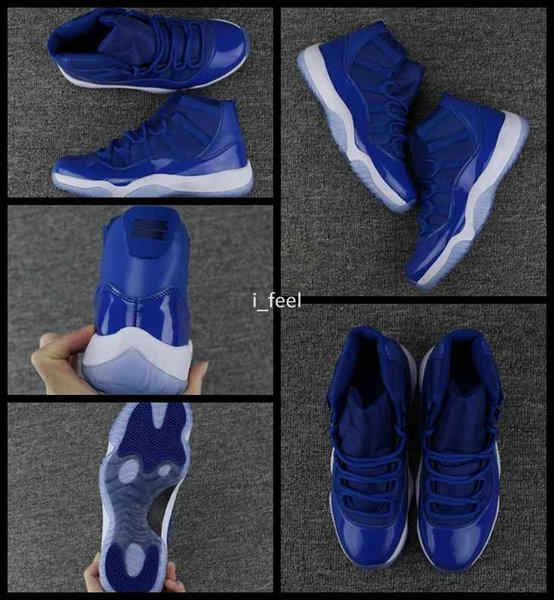 sale retailer 4fb56 3004d Cheap 2018 New Air Retro 11 Xi Royal Blue Basketball Shoes For Men Sports  Mens Retros 12s Trainers Athletic Sneakers Size Us 7 13 Boys Basketball ...