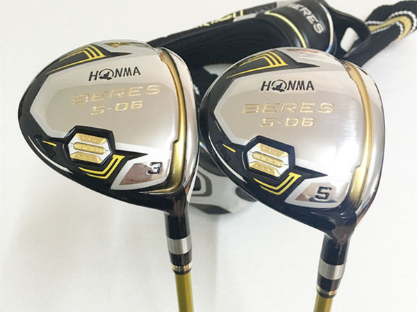 brand new 3 star honma s-06 fairway wood honma golf fairway golf clubs #3/#5 graphite shaft with head cover