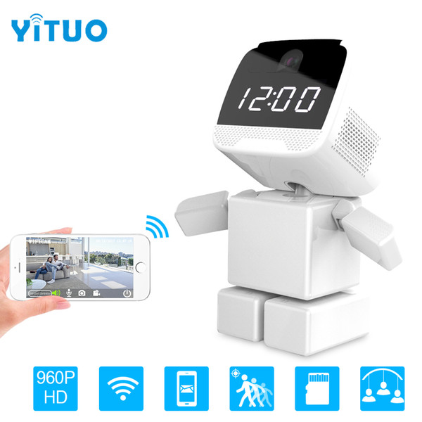 960P Wireless Robot IP WIFI Camera CCTV HD Camera Indoor Night Vision Wi-fi Network Baby Monitor Security support Two Way Audio YITUO