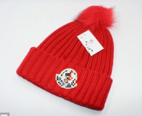 Luxury Winter brand CANADA men beanie Fashion Designer Bonnet women Casual knitting hip hop Gorros pom pom skull caps hair ball outdoor hats