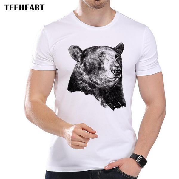 Bear Animal Scary Forest Roar Attack Cute Funny Joke Men T Shirt Tee