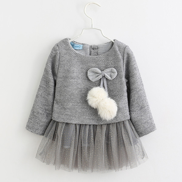 3f7481d95 2019 Bear Leader Knitted Dresses Crochet Woolen Outwear Gilt Gazue ...