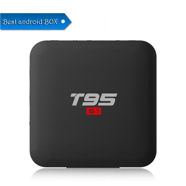 Best T95 S1 Amlogic S905W Android 7.1 TV BOX 2GB 16GB Quad Core HD 4K WiFi Smart Streaming Media Player Better TX3 X96 S905X S912 T95Z