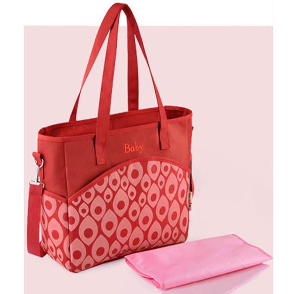 Brand designer baby ravel mama mummy mother stroller diaper bag set tote nappy bags shoulder organizer for mom A63M13